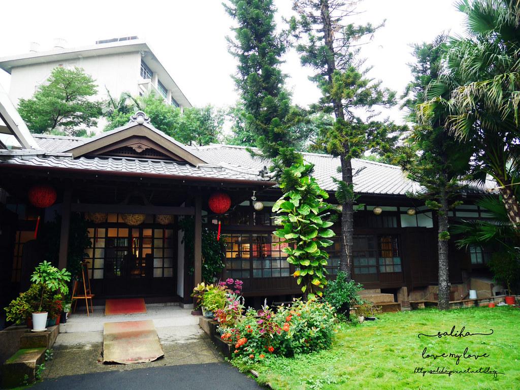 台北古亭站附近不限時日式咖啡廳下午茶推薦雅鴿書院 (1)