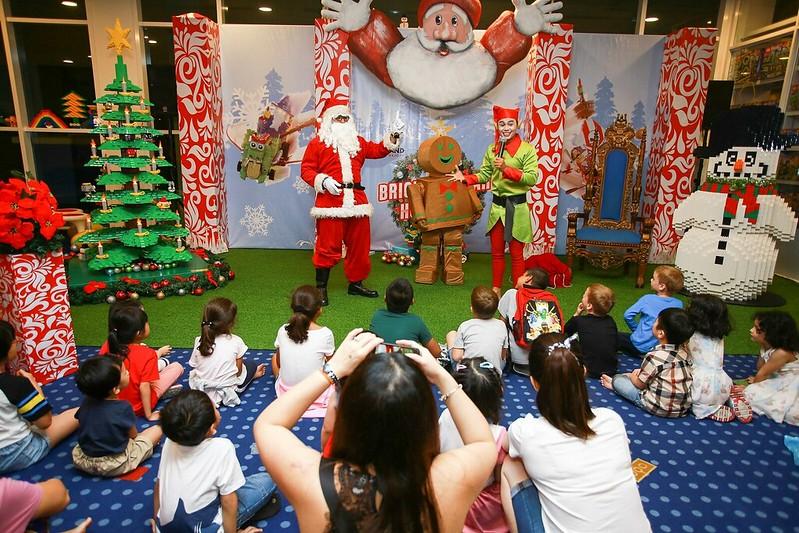 Christmas Show In Legoland Hotel Malaysia