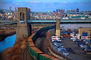 New York City Garbage Train