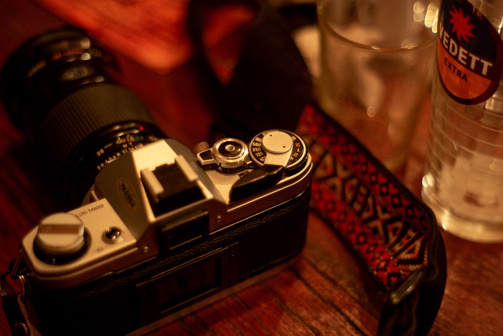 Canon AE-1 - a popular film camera