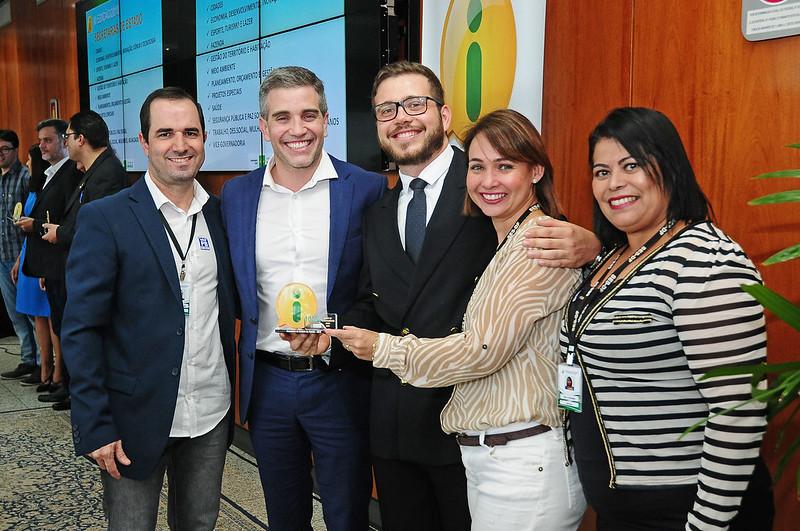 Secretaria recebe prêmio de Índice de Transparência Ativa