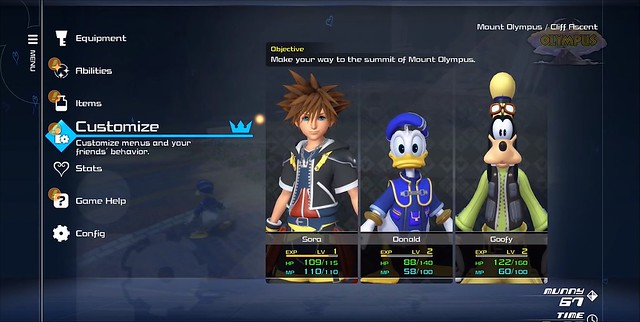 Kingdom Hearts 3 - Menyular