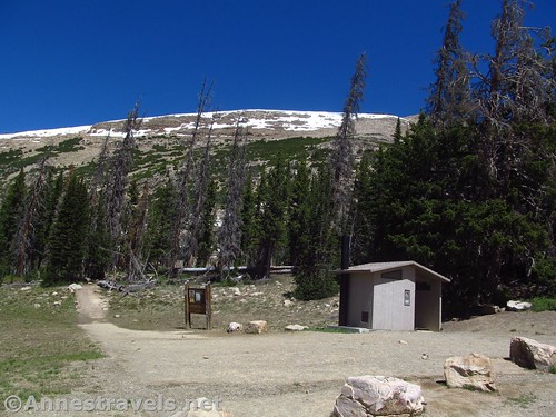 Bald Mountain Trailhead. There's nothing saying the trail was closed... Uinta Mountains, Utah