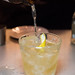 Penicillin (in a cute 150cc bottle) - Johnny Walker Black Label, ginger liquor, Talisker Skye, lemon