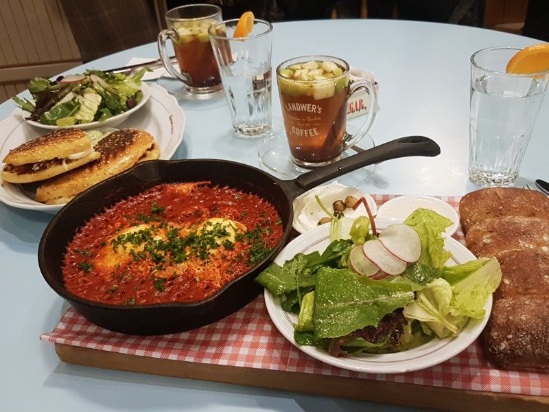 Cafe Landwer shakshuka