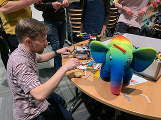 Building Lego robots