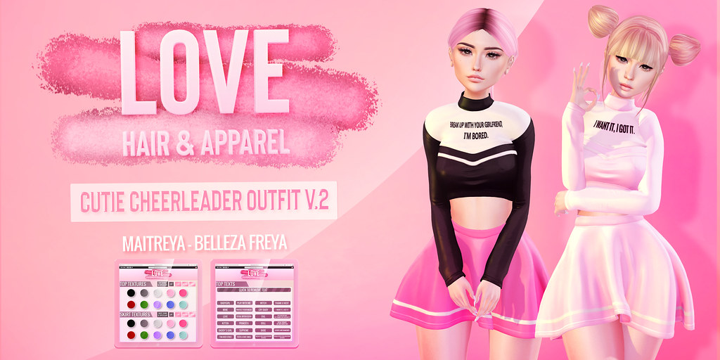 Love [Cutie Cheerleader Outfit] V.2 – The Saturday Sale!