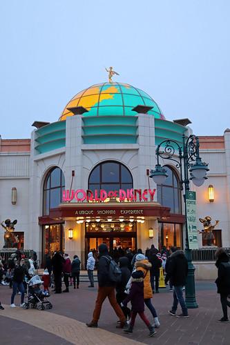 Disney Village Christmas market