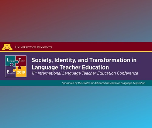 CFP: Society, Identity, and Transformation in Language Teacher Education