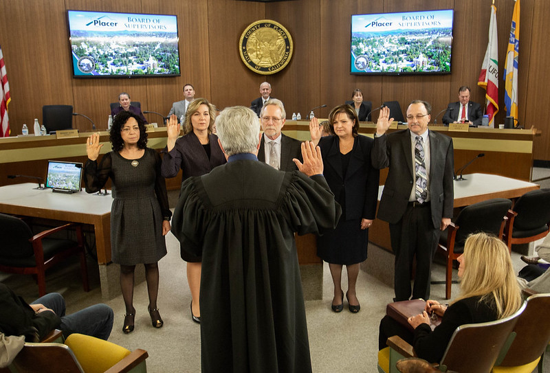 County office holders swearing-in ceremony