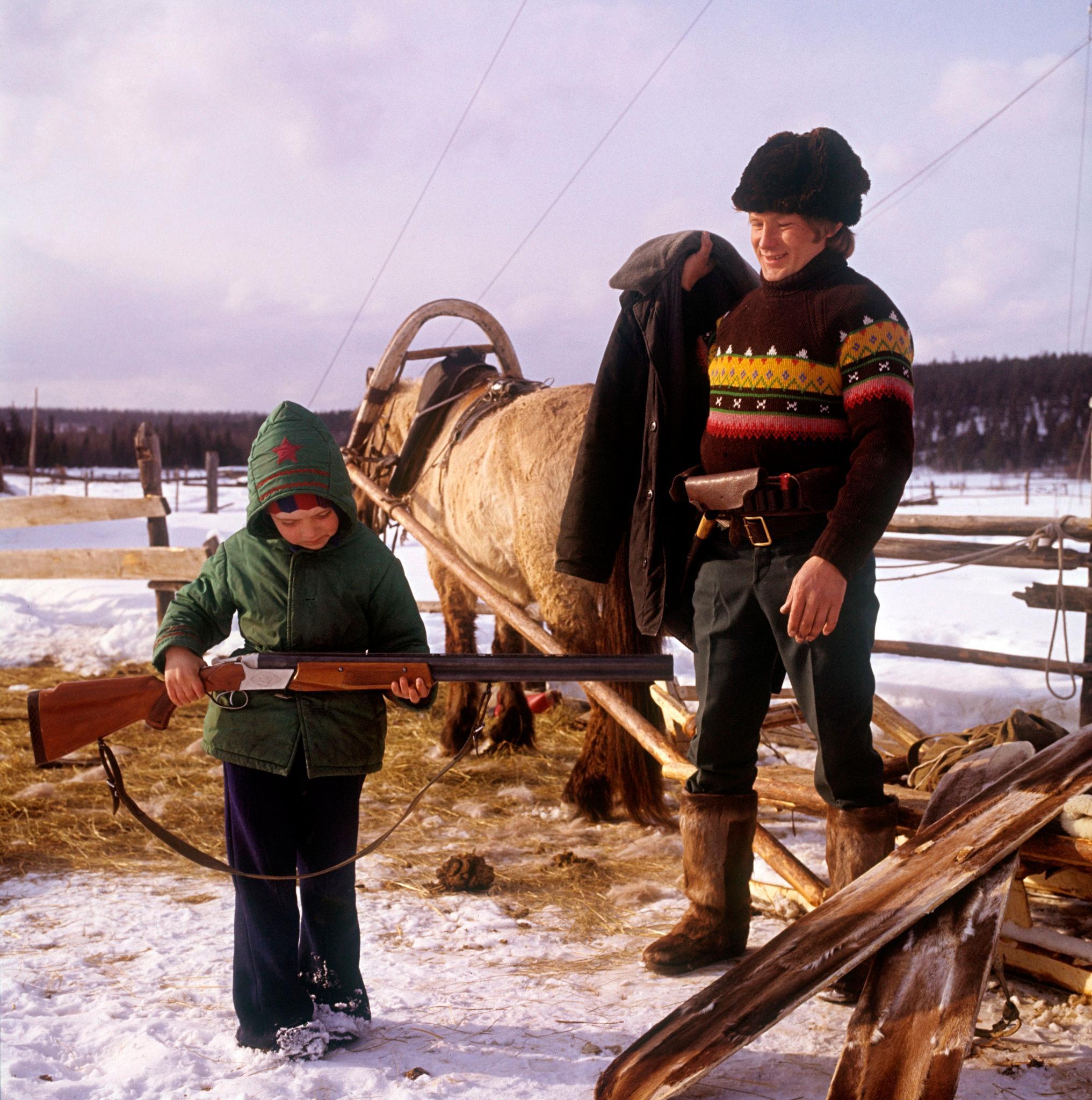 1970. Семья охотников, метеостанция Катулья