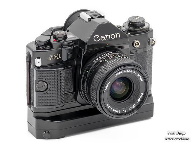 Canon A-1 + winder A2 (1978), Fujifilm X-T20, XF55-200mmF3.5-4.8 R LM OIS