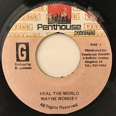 WAYNE WONDER:HEAL THE WORLD(LABEL SIDE-A)