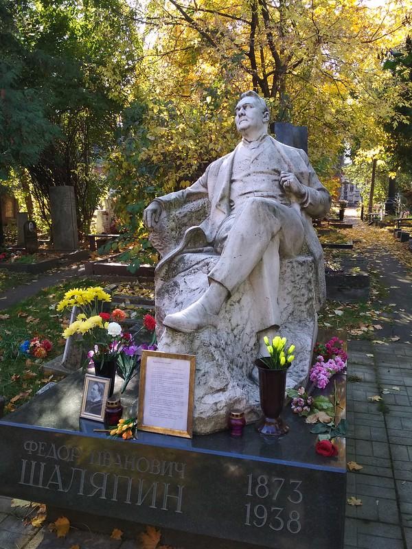 Москва - Новодевичье кладбище - Федор Шаляпин