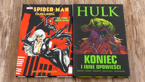 Spider-man Black cat Hulk