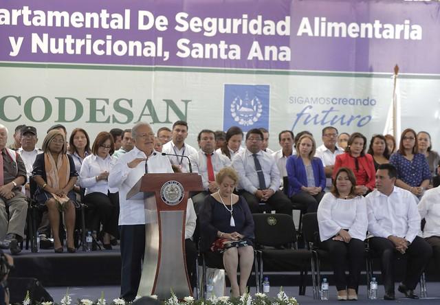 Lanzamiento Oficial y Juramentación del (CODESAN) de Santa Ana (10)