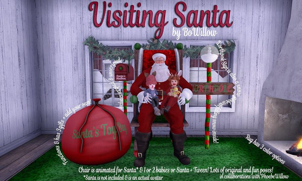 Visiting Santa Ad
