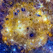 Mosaic of Caloris basin. Feb 25th, 2015. Original from NASA. Digitally enhanced by rawpixel.