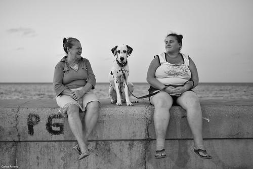 Portrait in Havana (Cuba).