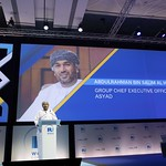 Abdulrahman bin Salim Al Hatmi during plenary 4 session at IRU World Congress