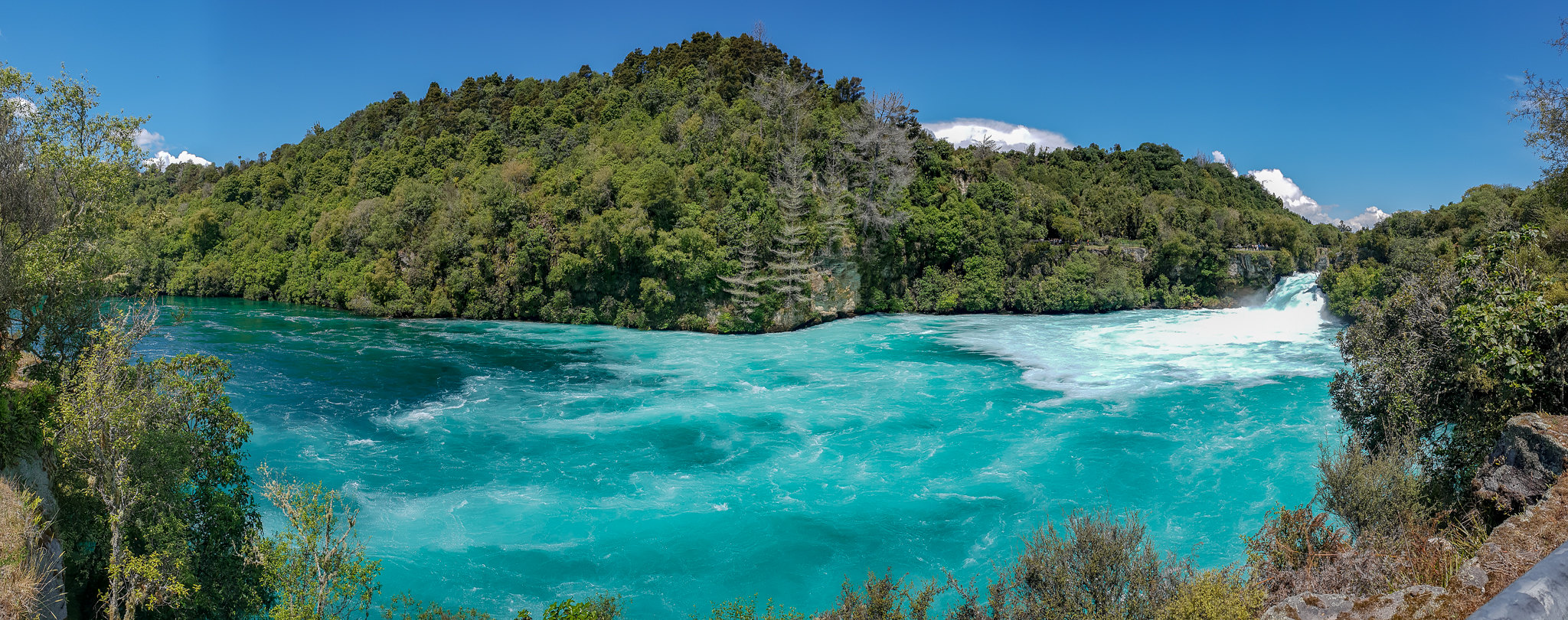 Huka Falls - the most popular natural attraction of New Zealand?