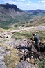 C211 Mickleden sheepfold to Stake Pass summit