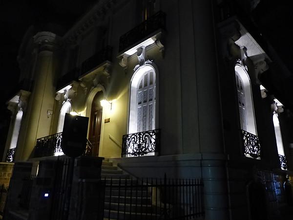 belle façade d'Athènes