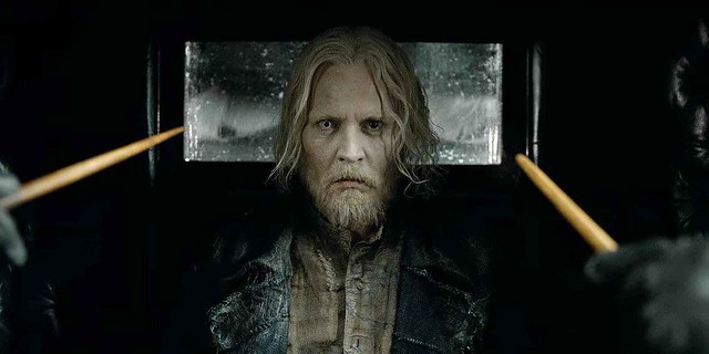 Johnny Depp Grindelwald