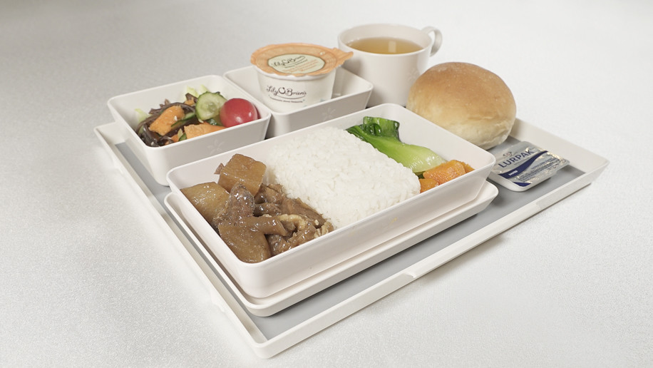 Hong Kong Airlines' New Economy Class Meals