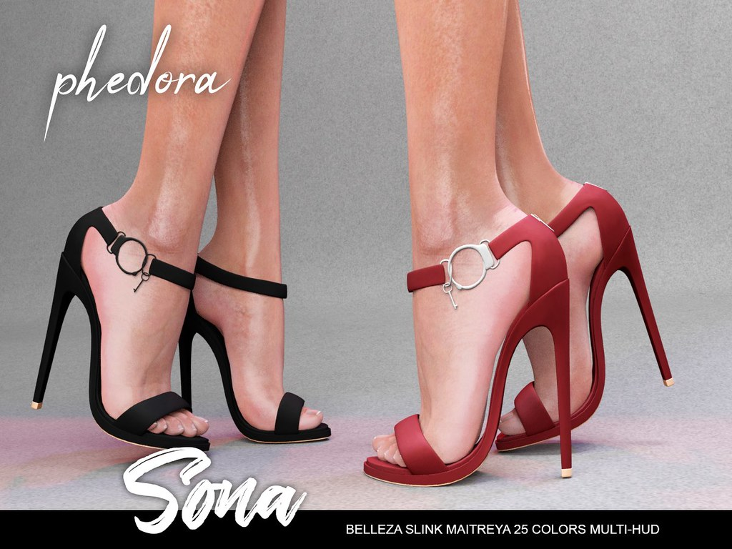 "Phedora. for Seduction fair 2018 powered by WeDo SL Events – ""Sona"" heels ♥"