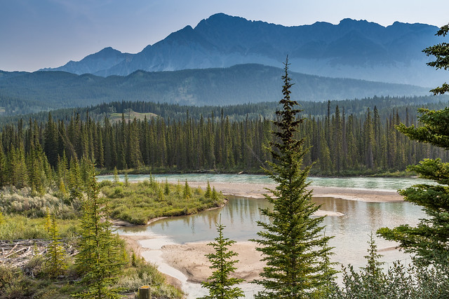Bow River, Icefields Parkway, Banff National Park