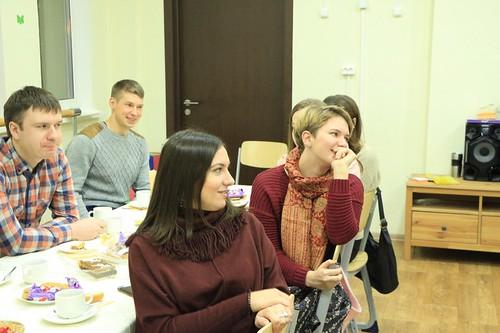 2018.11.18 Встреча с молодежным клуюом Элеос