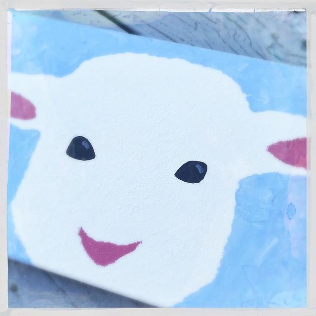 Lamb painting