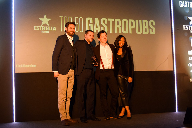 The Sportsman, Seasalter at the Top 50 Gastropubs Awards 2019