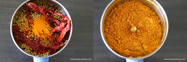 sambar powder recipe 2