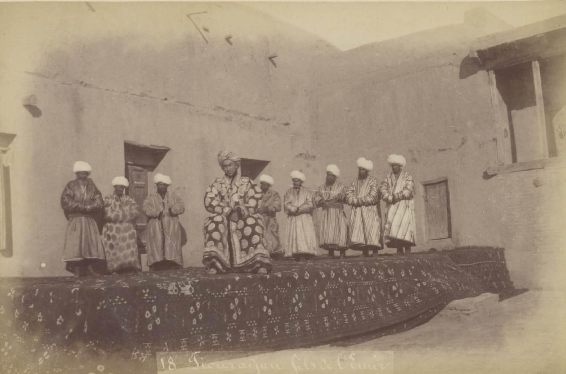 18. Тиураджан, сын эмира