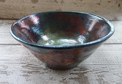 raku ceramic bowls