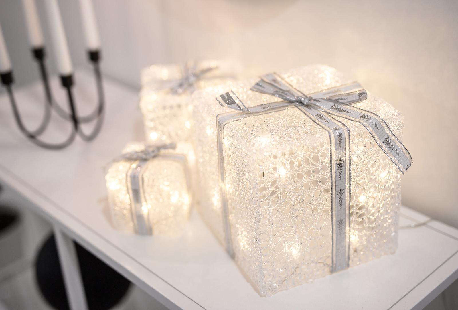 lahjapaketit jouluvalo