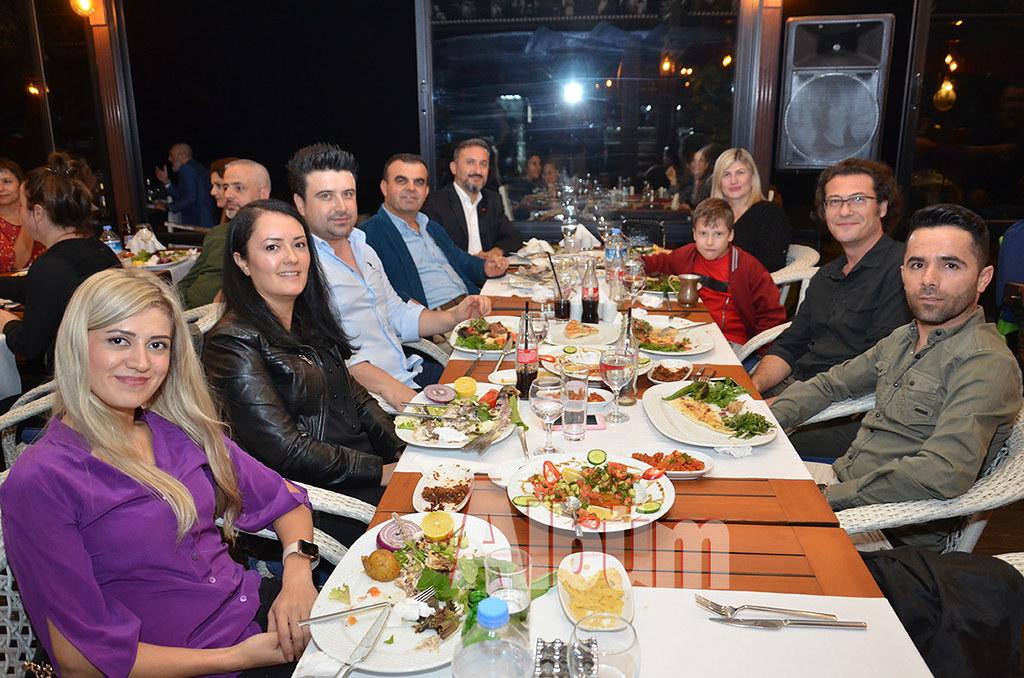 Veda gecesi Pasha'da yapıldı