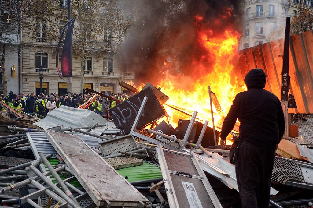 Mobilisation des gilets jaune -Paris