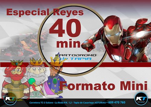Resultados Mini IronMan de 40 minutos - Promoción especial Reyes