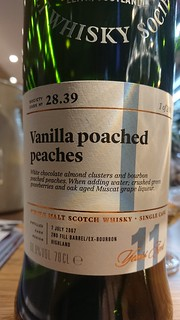 SMWS 28.39 - Vanilla poached peaches