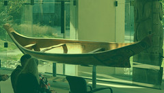 Bill Reid - Haida style canoe. Great Hall. UBC Museum of Anthropology