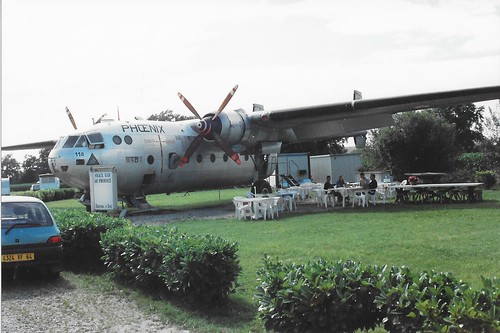 118 Nord Noratlas N.2501 used as a clubroom