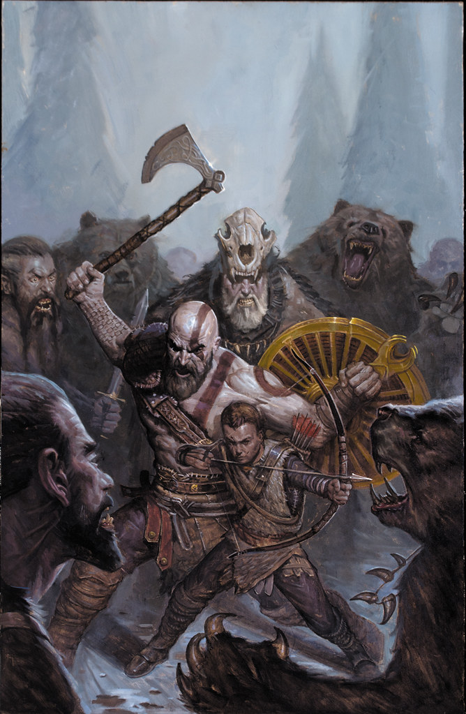 God of War prequel comic