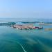 7. Isla de Burano desde el aire