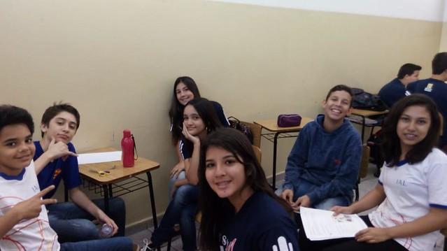 Estudando Ciências com as turmas do 7A e 7B - Professora Marisa e Professor Cristiano Jr