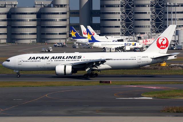 Japan Airlines | Boeing 777-200 | JA007D | Tokyo Haneda