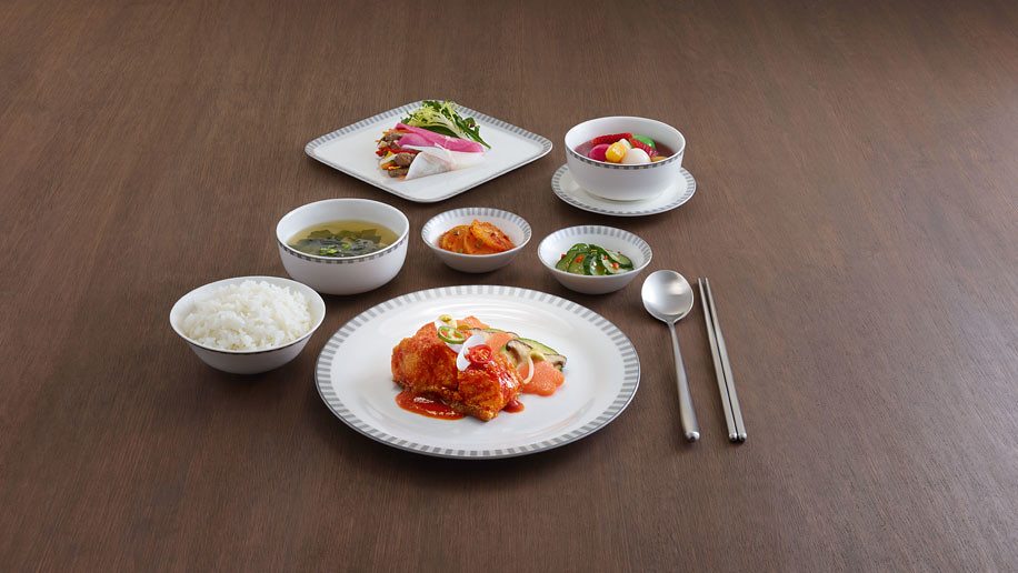 Singapore Airlines Pre-order Menu