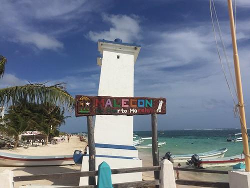 Puerto Morelos Malcón